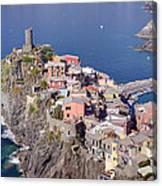village of Vernazza Canvas Print