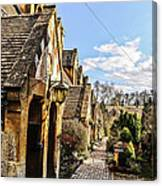 Village Of Winchcombe Canvas Print