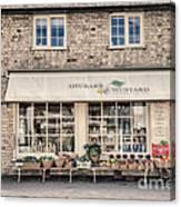 Village Shop Canvas Print