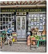 Village Stores 2 Canvas Print