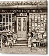 Village Stores 3 Canvas Print
