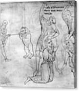 Villard De Honnecourt (c1225-1250) Canvas Print