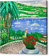 Villefranche Sur Mer---cote-d'azur Canvas Print