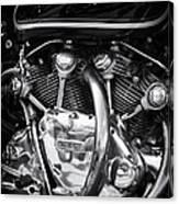 Vincent Engine Canvas Print