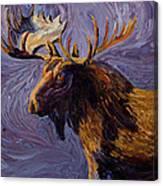 Vincent Van Moose Canvas Print