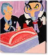 Vincent Price's Birthday Canvas Print