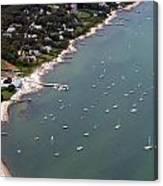 Vineyard Haven Yacht Club Canvas Print
