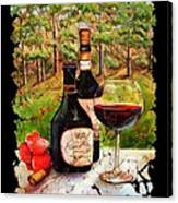 Vino Canvas Print