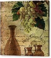 Vins Spiritueux Nectar Of The Gods Canvas Print