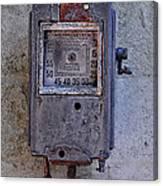 Vintage Air Pump Canvas Print