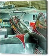 Vintage Airplane Comparison Canvas Print