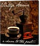 Vintage Aroma Canvas Print