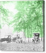 Vintage Autobmobiles Canvas Print
