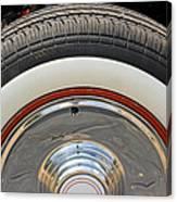 Vintage Automobile Tire Canvas Print