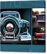 Vintage Automobiles Canvas Print