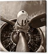 Vintage B-17 Canvas Print