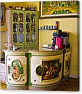 Vintage Bar - Hotel Subasio - Assisi Italy Canvas Print