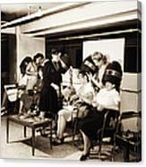 Vintage Beauty Parlor Canvas Print