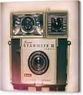 Vintage Brownie Starmite Camera Canvas Print