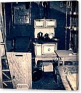 Vintage Cabin Interior Canvas Print