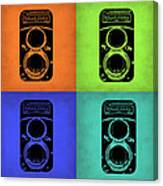 Vintage Camera Pop Art 1 Canvas Print
