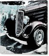 Vintage Ford Car Art 1 Canvas Print