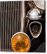 Vintage Car Details 6294 Canvas Print