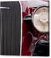 Vintage Car Details 6297 Canvas Print