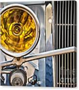 Vintage Car Light Canvas Print