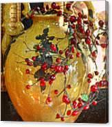 Vintage Ceramic Urn Canvas Print