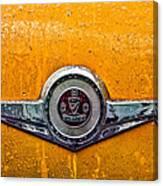 Vintage Checker Taxi Canvas Print