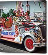 Vintage Chevrolet In Seligman Canvas Print