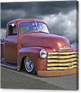 Vintage Chevy 1949 Canvas Print