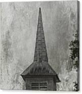 Vintage Church Canvas Print