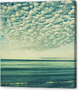 Vintage Clouds Canvas Print