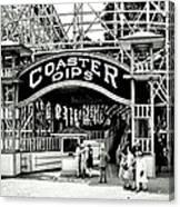 Vintage Coaster Canvas Print