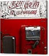 Vintage Coca Cola Canvas Print
