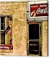 Vintage Colas Canvas Print