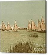 Vintage Comet Race  Canvas Print