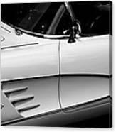 Vintage Corvette 4b Canvas Print