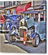Vintage Cruise Cars 5 Canvas Print