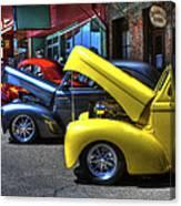 Vintage Cruise Cars 7 Canvas Print