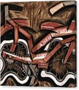 Tommervik Vintage cruiser bicycle Art Print Canvas Print