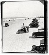 Vintage Daytona Beach Florida Canvas Print