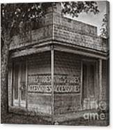 Vintage D'hanis Texas Business Canvas Print
