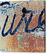 Vintage Eureka Canvas Print