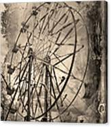 Vintage Ferris Wheel Canvas Print