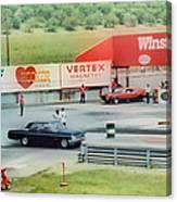 Vintage Ford Drag Racing Canvas Print