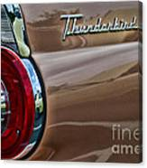 Vintage Ford Thunderbird Canvas Print