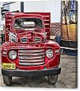 Vintage Ford Truck Canvas Print